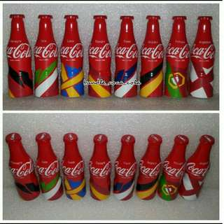 Coca cola Mini Aluminium Bottle Set