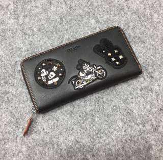 Coach x disney wallet