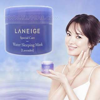 Mini laneige water sleeping mask lavender 15ml
