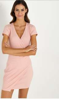 Cotton On - Kn Kendall WRAP DRESS