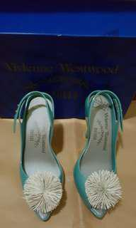 100% REAL AND NEW Vivienne Westwood x melissa plastic high heels