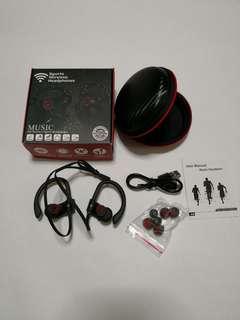 🚚 Wireless sports Bluetooth with speaker