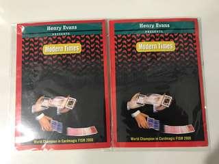 Modern Times - Henry Evans card magic trick
