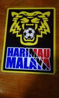 Harimau Malaya Windscreen Sticker