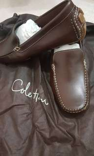 [Pre-Order]COLE HAAN WOMEN'S LEATHER DRIVING LOAFERS,6.5