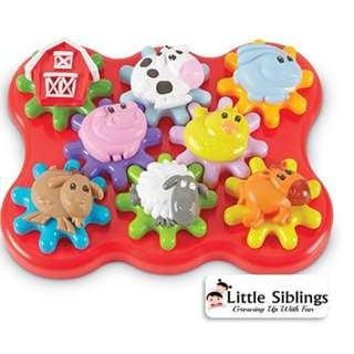 Learning Resources - Barnyard Friends Build and Spin