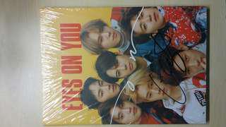 [WTS] MNET MWAVE Eye On You Signed Album (Yugyeom signature)
