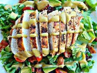 Grilled Chicken Salad - Please see pics for prices or add ons