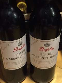 Red Wine 1998 Penfolds 389