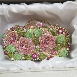 Crystal Crafted handbag