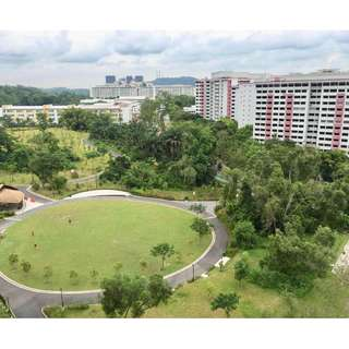 100% UNBLOCK PARK VIEW! HIGH FLOOR DESIGN N BUILT! LOW CASH DEPOSIT!