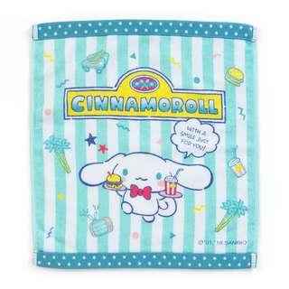 Sanrio 日本正版 Cinnamoroll 玉桂狗 暑假系列 純綿 方巾 毛巾