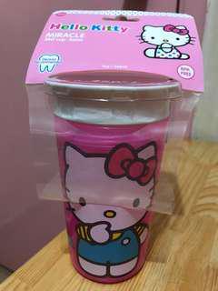 Hello Kitty 防漏學習杯