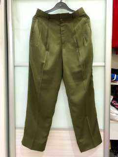 Vintage Army Green Pants