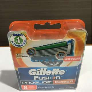Gillette Fusion Proglide Power ( Refill 8 )