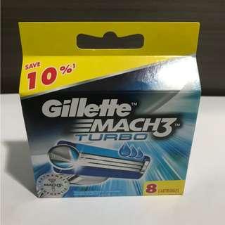 Gillette Mach3 Turbo ( Refill 8 )