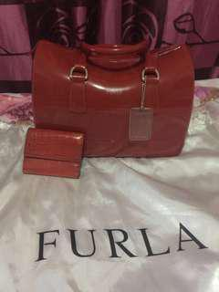 Authentic Furla Candy bag and wallet