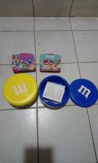 M&M's收納盒組