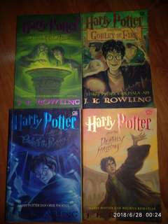 Preloved Novel Hary Potter