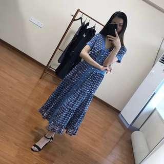 2018年Tory Burch印花洋裝 連身洋裝 夏季首選款!