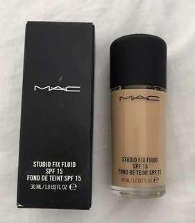 MAC Studio Fix Fluid Foundation NC20 BRAND NEW UNOPENED