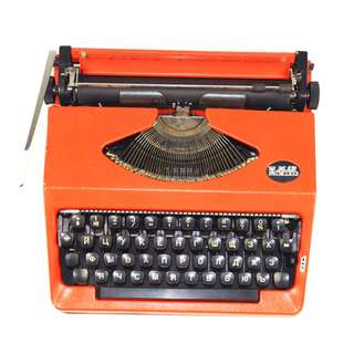 Hero 110 Orange Typewriter