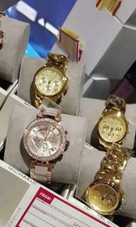 SOLD MK WATCHES