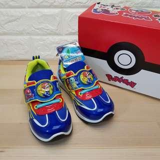 🚚 💕精靈寶可夢💯MIT製 男童鞋 神奇寶貝 發光布鞋 童球鞋(現貨當日寄出)