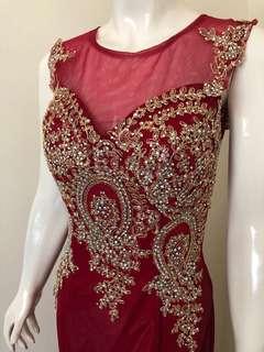 Glamour Prewedding dress / Glamour Dress / Diamond dress