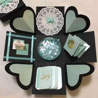 Love/Birthday Explosion Gift Box