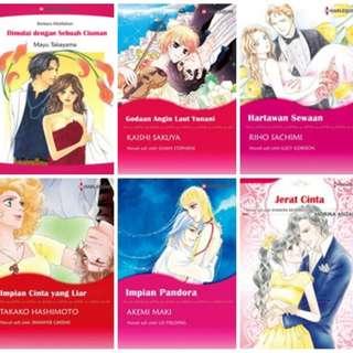 Paket Ebook Komik Harlequin Terjemahan 20