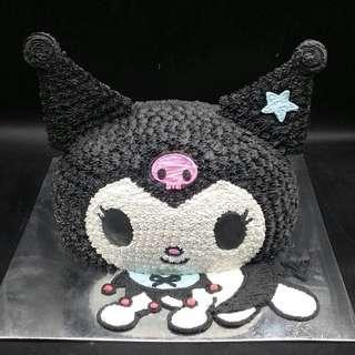 可羅米 Kuromi 蛋糕 兩磅