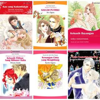 Paket Ebook Komik Harlequin Terjemahan 21