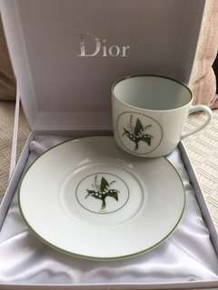 Christian Dior De La Table - Tableware (Tea cup & saucer)