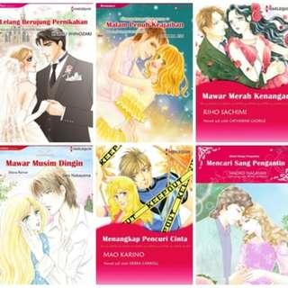 Paket Ebook Komik Harlequin Terjemahan 22
