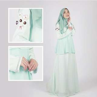 Daisy Dress Baju Raya