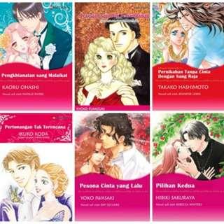 Paket Ebook Komik Harlequin Terjemahan 24