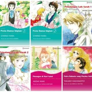 Paket Ebook Komik Harlequin Terjemahan 25
