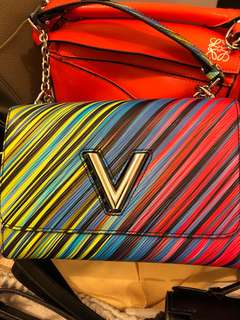 LV rainbow bag