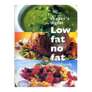 Low fat no fat cookbook - Brand New