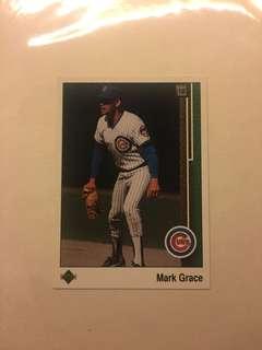 Mark Grace Upper Deck Baseball Card