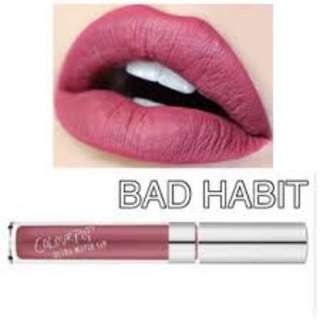 🚚 Bad Habit Colourpop Ultra Matte Lip