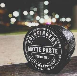 Goldfingers Matte Paste Pomade