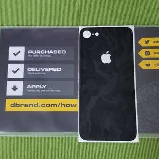 dbrand black camo 黑迷彩 for iphone 8