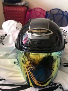 Shoei J force 2 Goldwing black