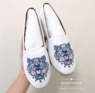 Kenzo Espadrilles 老虎頭草鞋