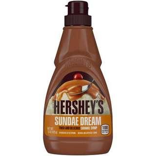 Hershey's Sundae Dream Caramel Syrup 435g