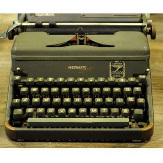 Hermes Smith Corona Typewriter