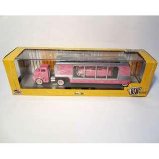 Toys & Games M2 Machines Auto Hauler 1956 Ford C-500 COE truck trailer & 1949 Mercury Custom R.17 diecast 1:64 scale