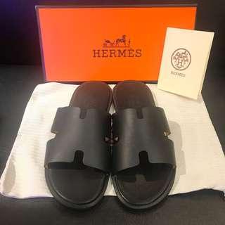 Hermes Sandal (Black)